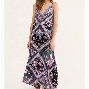 Free People | Stevie Floral Lace Maxi Dress M new